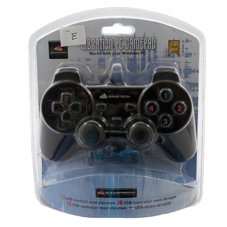 Double Shock USB PC Controller for Gamepad Joypad
