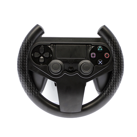 PS4 Steering Wheel(With Anti-slip handle and super hand feel)