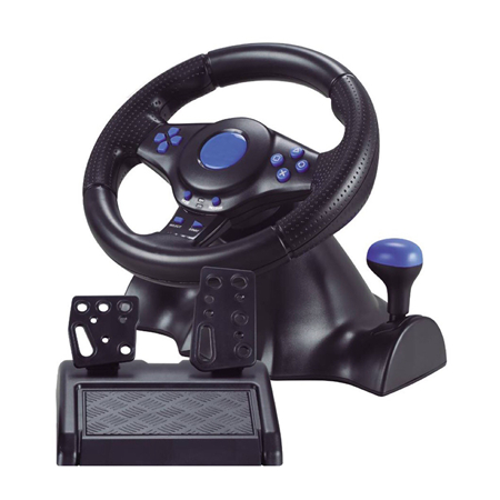 3in1 USB Gaming Steering Wheel for PS4/PS3/PC